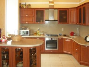 Кухня квартиры в аренду