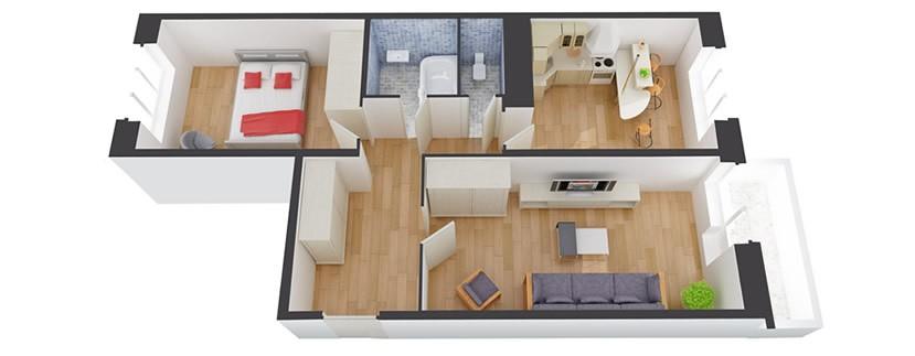 комфортные размеры квартиры