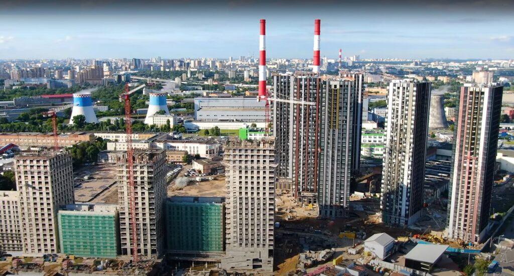 novostrojki rajona 1024x550 - Южнопортовый район в ЮВАО: описание, недвижимость, недостатки и достоинства.