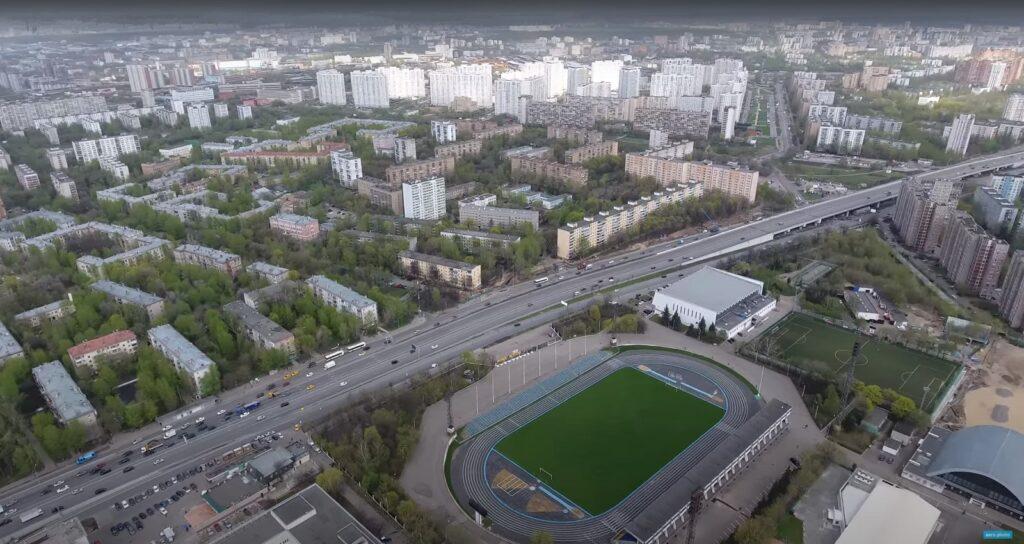 stadion moskvich 1024x544 - Район Текстильщики в ЮВАО: территория, недвижимость, достоинства и недостатки