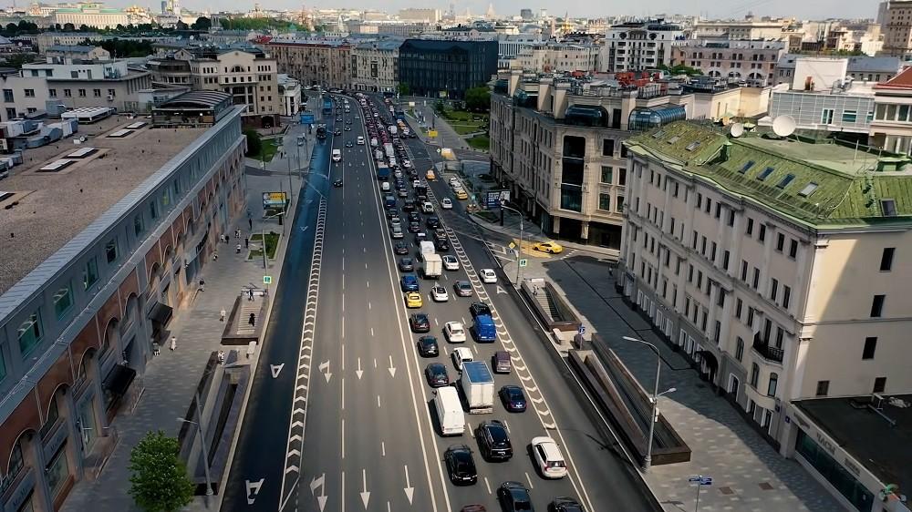 transportnaja zagruzka rajona - Район Якиманка, ЦАО: история, недвижимость, недостатки и достоинства