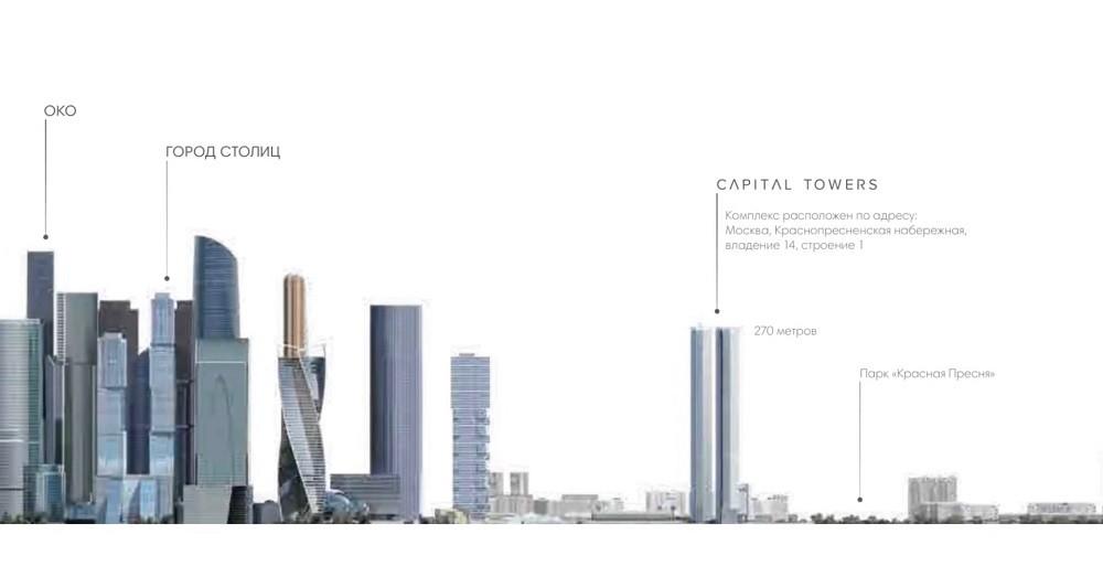 capital towers - Пресненский район в ЦАО: история, недвижимость, недостатки и достоинства